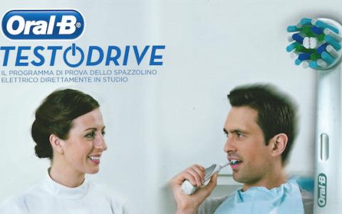 Vieni a provare lo spazzolino elettrico Oral B